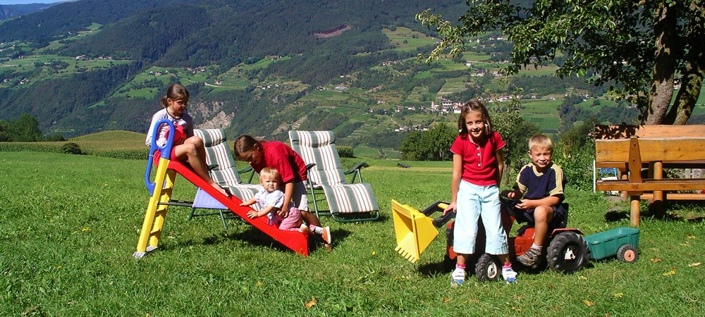 Family holiday at the farm in South Tyrol