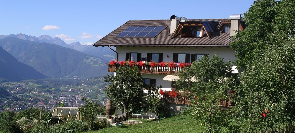 Summer holiday at the farm in South Tyrol